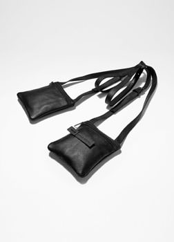 Sarah Pacini LEATHER HOLSTER BAG Front