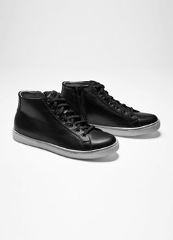 Sarah Pacini HIGH-TOPS EN CUIR De face