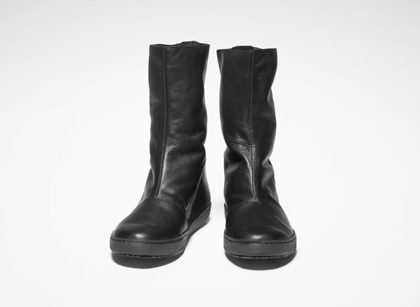 Sarah Pacini LOW LEATHER BOOTS Front