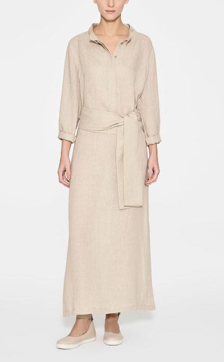 Sarah Pacini LINEN DRESS