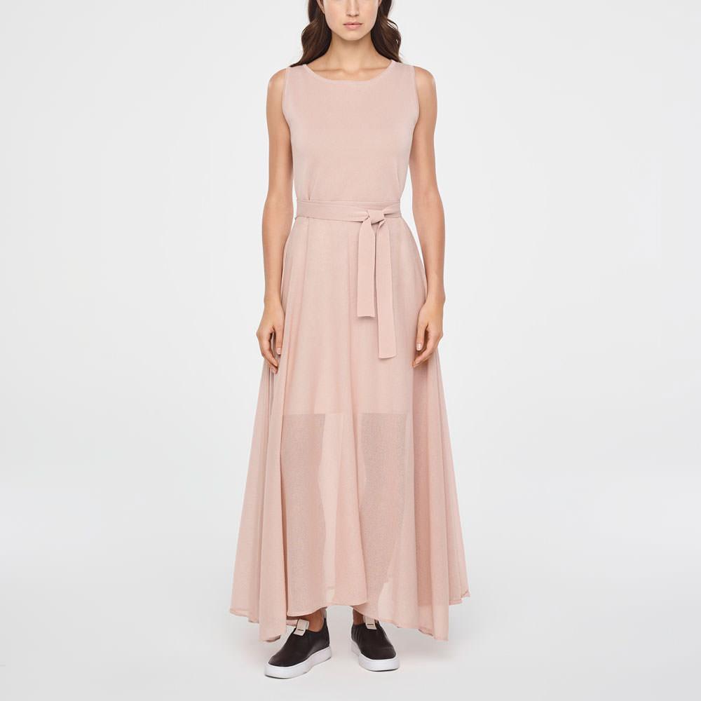 katoenen maxi jurk