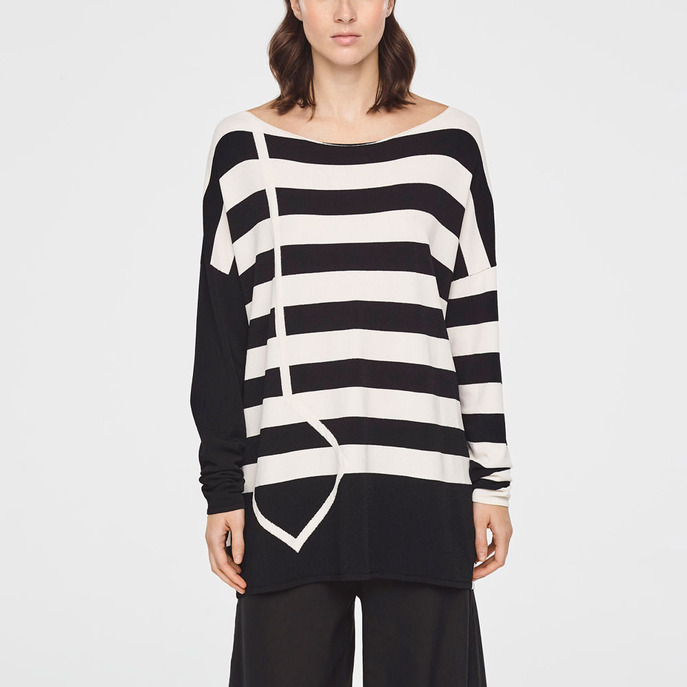 Sarah Pacini NAUTICAL SWEATER Front
