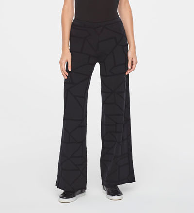 Sarah Pacini GRAPHIC PANTS Front