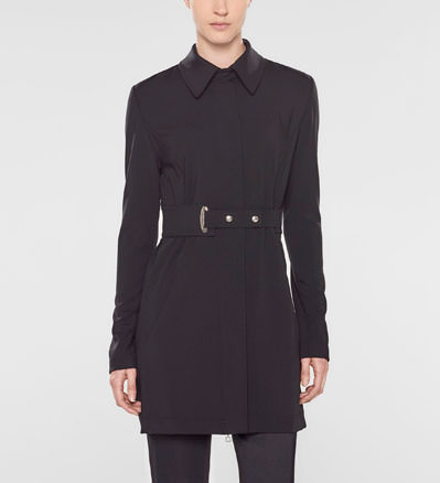Sarah Pacini Long jacket, straight fit Front