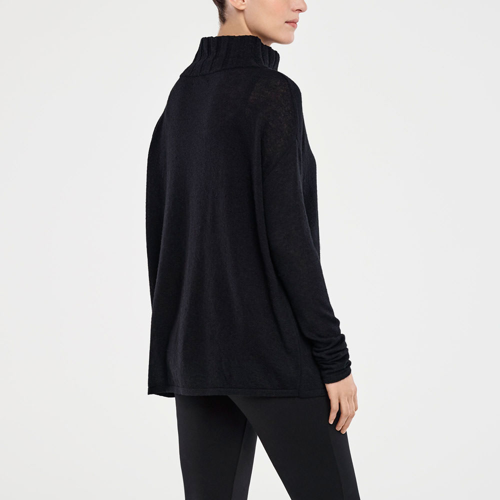 Sarah Pacini MOCK NECK SWEATER Back view