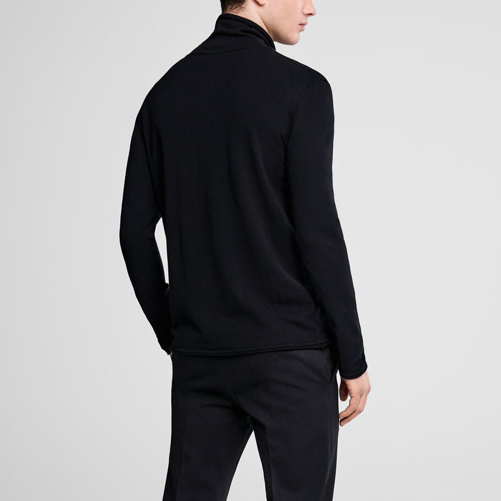 Sarah Pacini Cowl neck sweater Back view