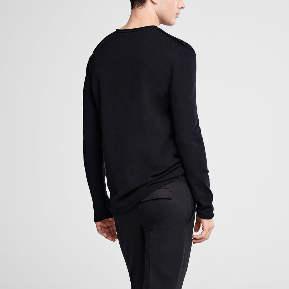 Sarah Pacini Crewneck sweater Back view