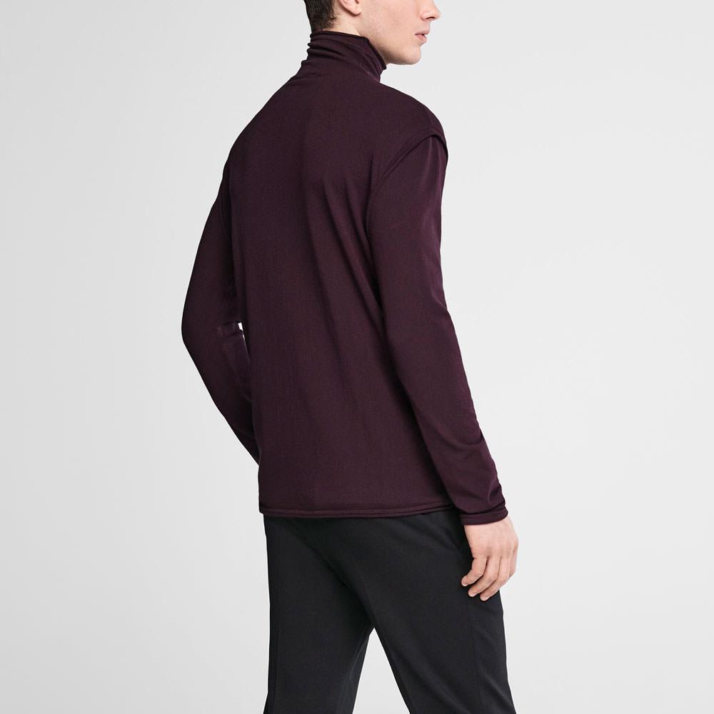 Sarah Pacini Mock neck sweater Back view