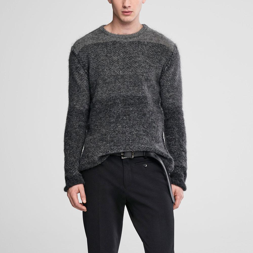 Sarah Pacini Ombré mohair sweater - crewneck Front