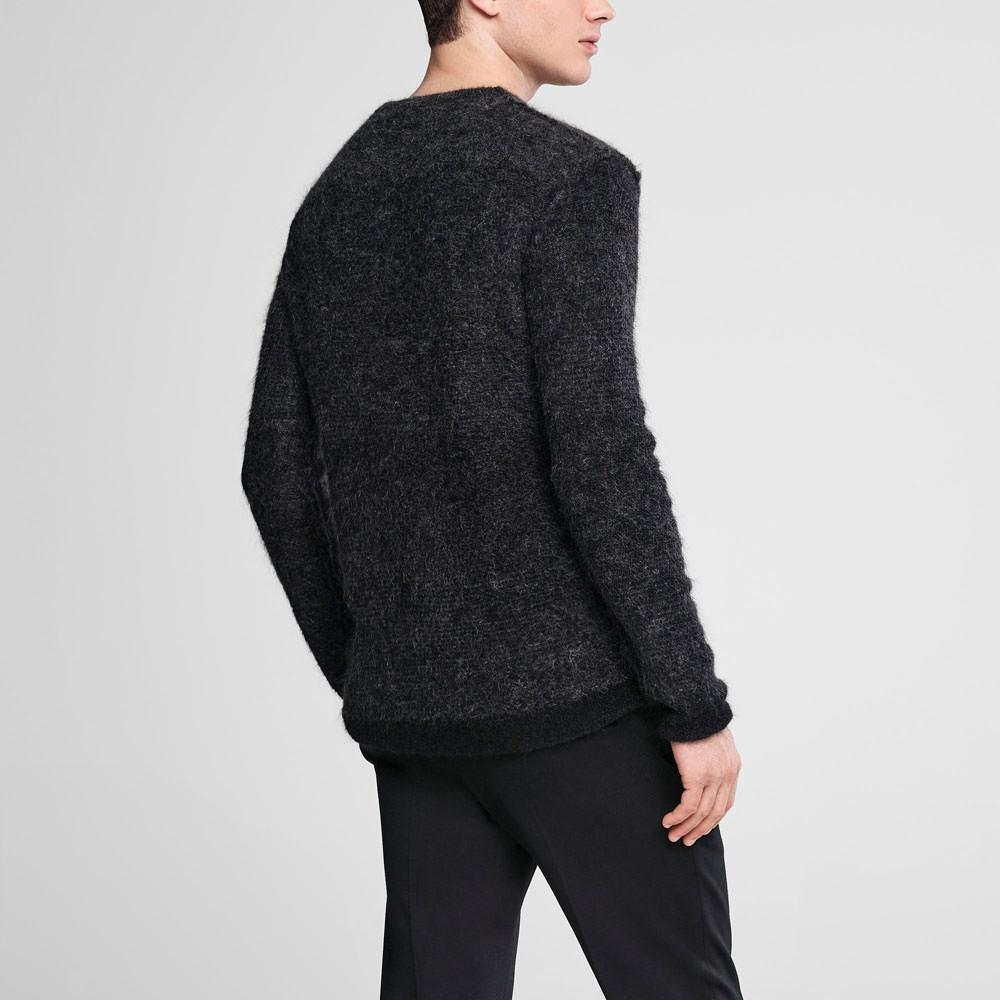 Sarah Pacini Ombré mohair sweater - crewneck Back view