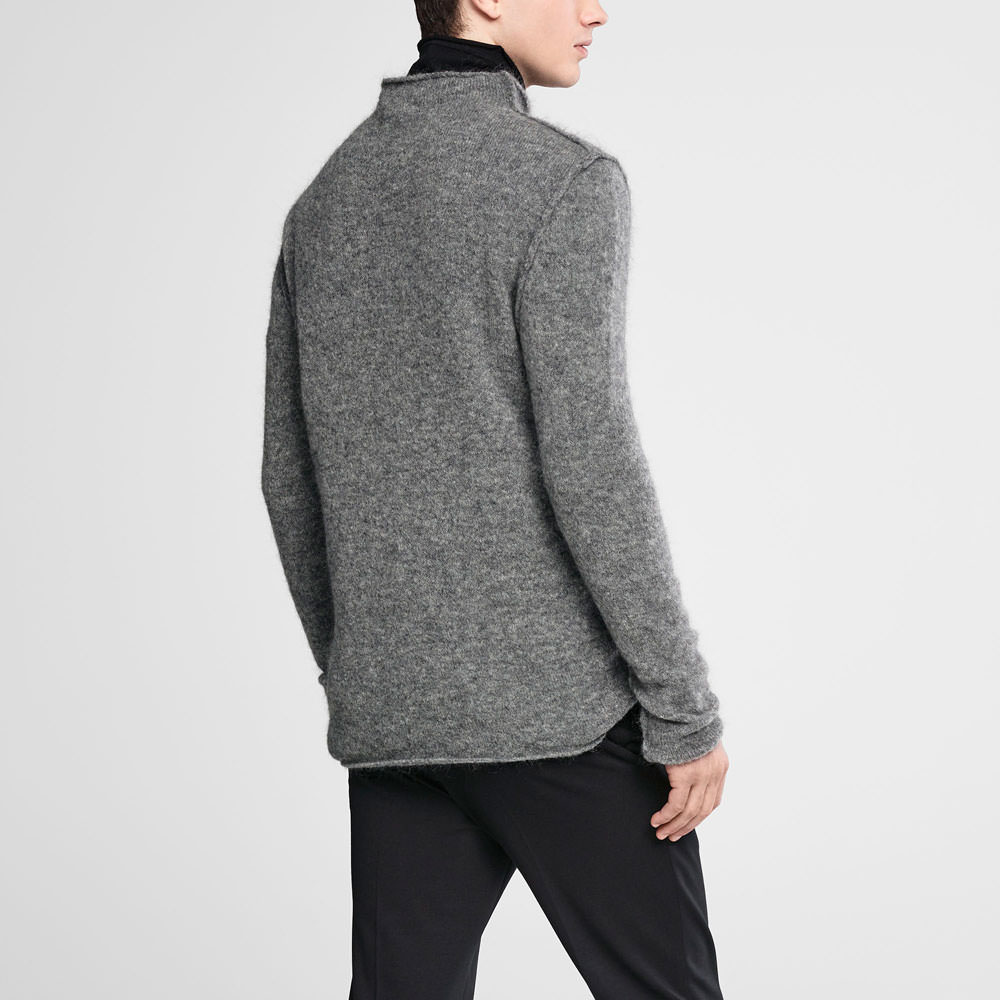 Sarah Pacini Mohair sweater - funnel neck Back view