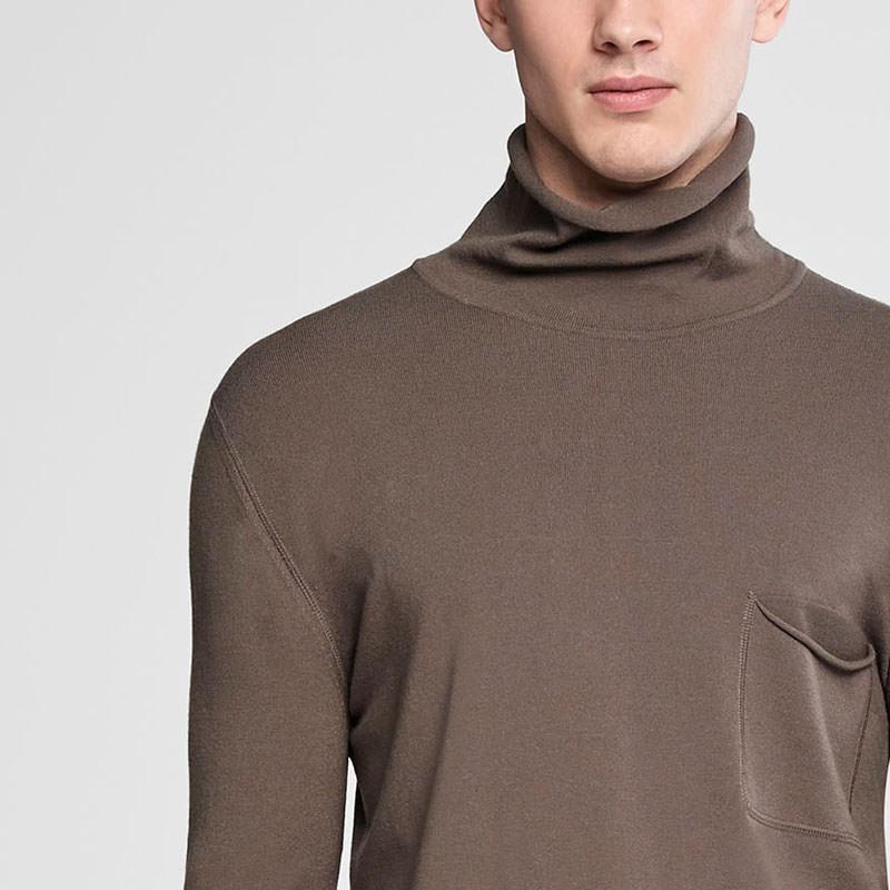 Sarah Pacini Cowl neck sweater Front