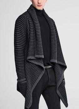 Sarah Pacini Asymmetrical cardigan Front