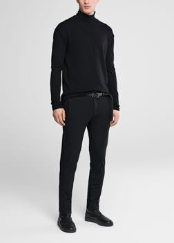 Sarah Pacini Jersey pants - zipped cuffs Front