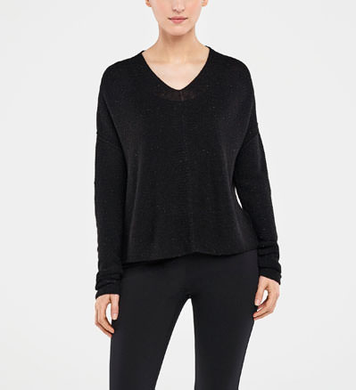 Sarah Pacini SWEATER - BRILLIANT KNIT Front