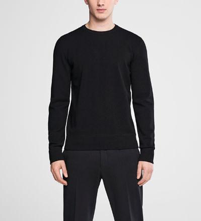 Sarah Pacini Crewneck sweater - double knit Front